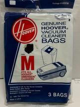 Hoover Genuine Type M Vacuum Cleaner Bags 3 Pack New in Package  Older S... - $6.72