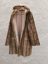 Jones of New York Women's Plus Size 2X Faux Fur Suede Reversible Coat  - $60.00