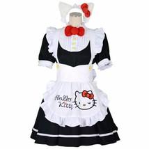 Sanrio Hello Kitty 8mm Cosplay Maid One piece size S Black Costume Kawaii - $89.99