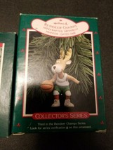 Vintage Hallmark REINDEER CHAMPS Lot of 4 Ornament 1980's - EUC In Box - $24.75