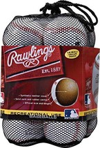 Rawlings OLB3BAG12 Official League Recreational Use Baseballs Bag of 12 - $36.18