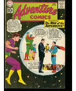 ADVENTURE COMICS #287 1961 DC SUPERBOY ORIGIN BIZARRO VG - $50.44