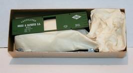 MDC, 36' Ventilated Box Car, Gorre & Daphetid R.R. Kit, Green Item 1008 NIB, 211