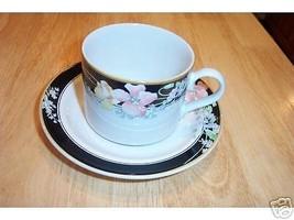Studio Nova cup and saucer (Windmere Black) 7 available - $3.27