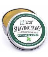 Taconic Shave Barbershop Quality Eucalyptus Mint Shaving Soap with Antio... - $12.49