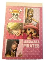 "One Piece Anime ""Mugiwara Pirates"" 40 Page Mini-Notepad * FUNimation (B) - $4.88"