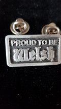 proud to be welsh double pin badge lapel Badge / tie pin, Lapel Pin Badge, boxed