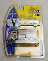 Jada Toys VDubs 63 Volkswagen Bus Pickup DieCast Stake Bed Collectible Vehicle - $20.00