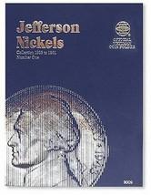 Jefferson Nickels Folder 1938-1961 Official Whitman Coin Folder - $5.42