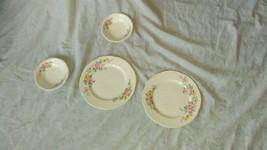 Homer Laughlin H47N5 Plates And G47N6 Bowls- Damaged - $10.00