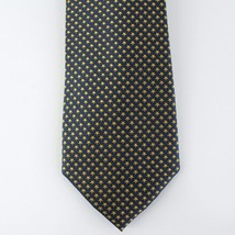 Tommy Hilfiger Neck Tie Navy Blue with Gold Stars 100% Silk Mens New - $14.99