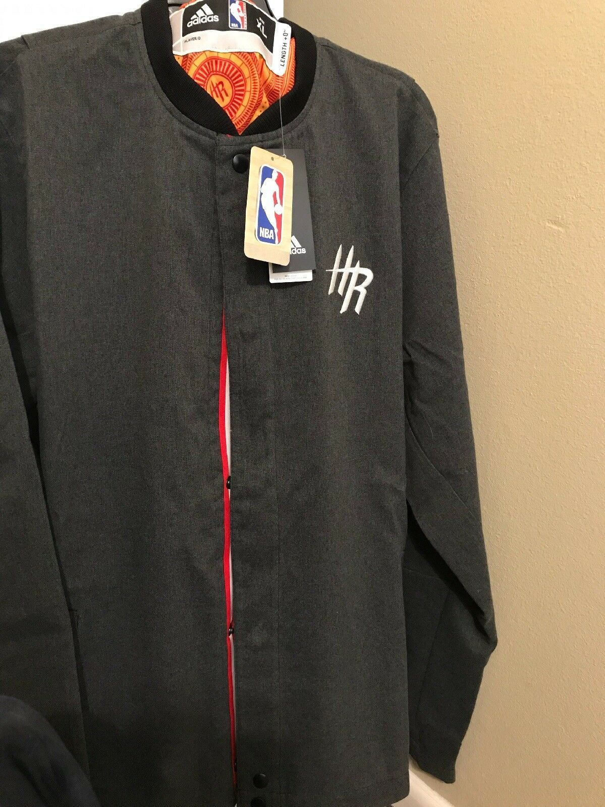 super popular ba010 87541 Houston Rockets Adidas Mens Size L On Court and 50 similar items