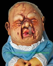 BABY STINKY PUPPET Creepy Realistic Mutant DOLL Halloween Prop Costume A... - $25.71