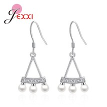 Various Natural Black White Imitation Pearl Genuine 925 Sterling Silver ... - $8.69