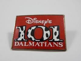 Walt Disney's 101 Dalmatians Movie Promo Rectangular Pin RARE - $7.59