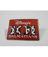Walt Disney's 101 Dalmatians Movie Promo Rectangular Pin RARE - $7.59