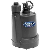 Submersible Utility Water Pump Emergency Basement Pool Yard Draining 110... - $74.20