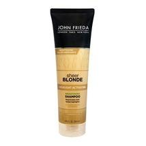 John Frieda sheer blonde Highlight Activating Enhancing Shampoo For Lighter Blon - $13.50