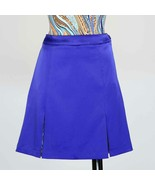 "Stylish Women's Longer 26"" Golf Skort In Sapphire Blue with Animal Print... - $29.95"