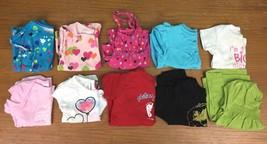 Lot of 10 Girl's 12 Months Short Sleeve & Tank Tops - Carter's, Garanima... - $16.97