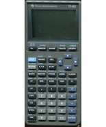 Texas Instruments TI-82 Graphing Calculator Black w/Cover - $6.23
