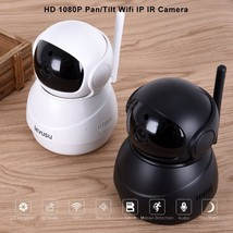 Wireless 1080P Pan Tilt Network IP Camera WiFi Webcam Home CCTV Night Vi... - $52.80