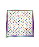 Louis Vuitton Bandana Scarf Takashi Murakami Eye Love Monogram 68 cm M71... - $711.81