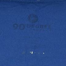 90 Degree by Reflex Royal Blue 3/4 Yoga Workout Pants Leggings Size S image 3