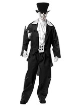 Charades Men's Ghost Groom, as Shown, Small - $84.63