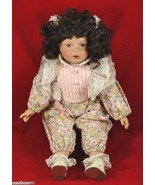 The Dollcrafter Limited Edition Porcelain Baby Doll Kingstate 19-in Numb... - $17.06