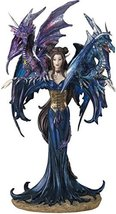 George S. Chen Imports SS-G-91276 Fairy Collection Pixie with Dragon Fantasy Fig - $26.68