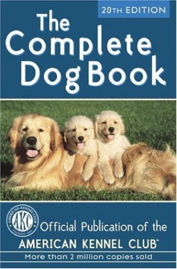 The Complete Dog Book : American Kennel Club 20th Edn : New Hardcover  @ZB