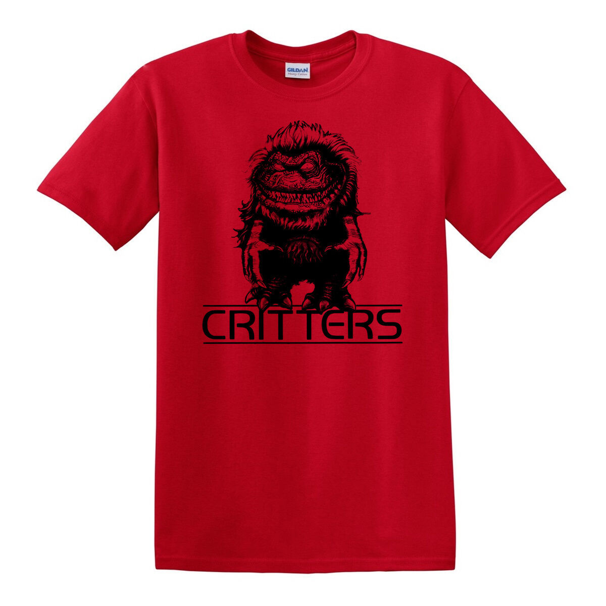 Critters T-shirt Free Shipping retro horror film 80s 100 % cotton graphic tee
