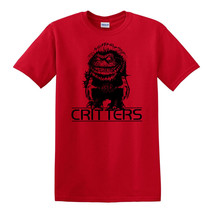 Critters T-shirt Free Shipping retro horror film 80s 100 % cotton graphic tee image 1