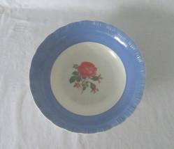 MacBeth Evans, Classic Blue / Rose, Vegetable / Serving Bowl - $11.00