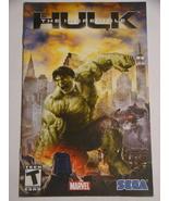 Playstation 2 - THE INCREDIBLE HULK (Replacement Manual) - $8.00
