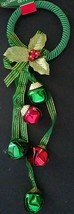 "Christmas Holiday Jingle Bell Door Knob Hangers 11-12"", Select: Theme & ... - $2.99"