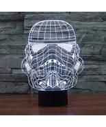 Storm Trooper 3D Illusion Lamp - $27.99