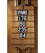 Religious, Church & Catholic Gifts, 1pc Wall Mount Hymn Board - $212.80