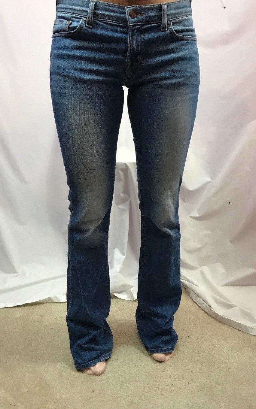 J Brand Bailey Americana Boot Cut Jeans, Light Wash, Womens Size 25
