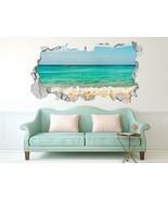 3D Seascape Photo  733 Wall Murals Wall Stickers Decal breakthrough AJ W... - $43.47+
