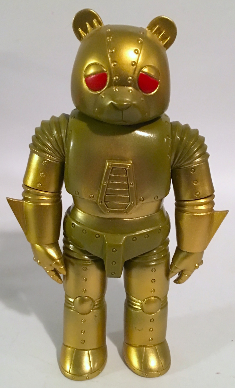 Robot Bear GOLD Kaiju for GrownUps