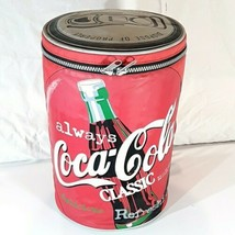 "1998 Coca-Cola Vintage Cooler Bag w/Strap Always Coca-Cola Classic 12"" tall - $18.95"