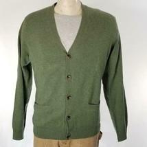 Polo Ralph Lauren Men's Cardigan Sweater Leather Shamrock Wool  Sz L NWT... - $88.17