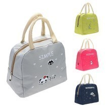 Lunch Bag Kitchen Organizer Insulated Picnic Bags School Food Holder Sto... - $11.89 CAD