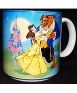 Vintage excreted Disney Beauty and the Beast Belle Dance Coffee Cup - $44.38