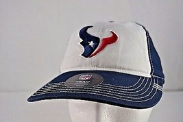 Houston Texans Blue/White Youth Baseball Cap Adjustable - $21.35