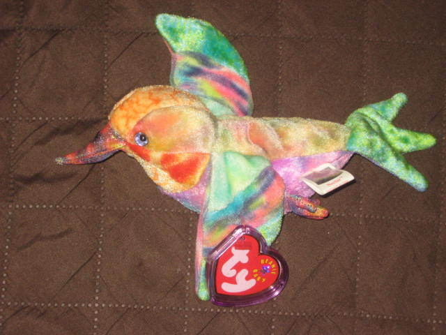 S l1600. S l1600. TY NECTAR the HUMMINGBIRD BEANIE BABY MINT with MINT TAG. BRAND  NEW. ce478fce55bd