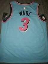 Miami Heat Dwyane Wade  *CITY* Vice wave Nike Swingman Jersey 3XL RARE - $207.90