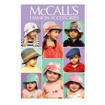McCall Pattern Company M6762 Infants'/Toddlers' Hats Sewing Template, One Size O - $14.21